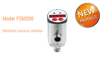 PSM200 Electronic pressure switches